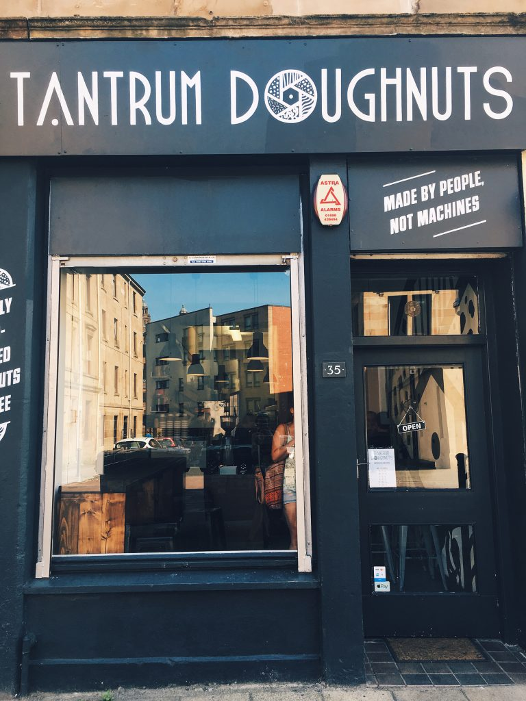 tantrum doughnuts entrance