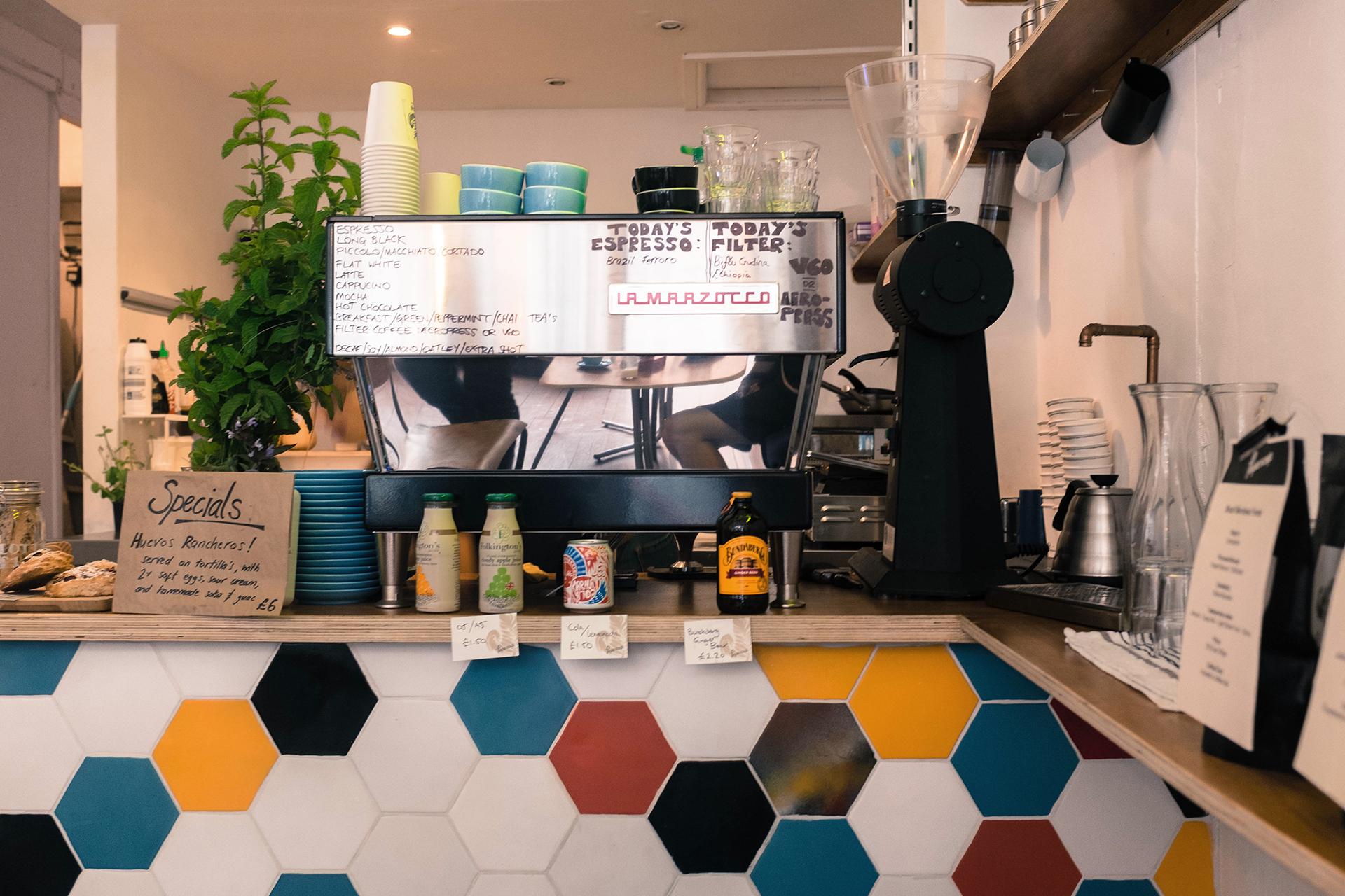 papercup coffee la marzocco
