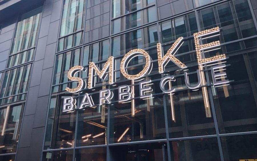 smoke bbq exterior