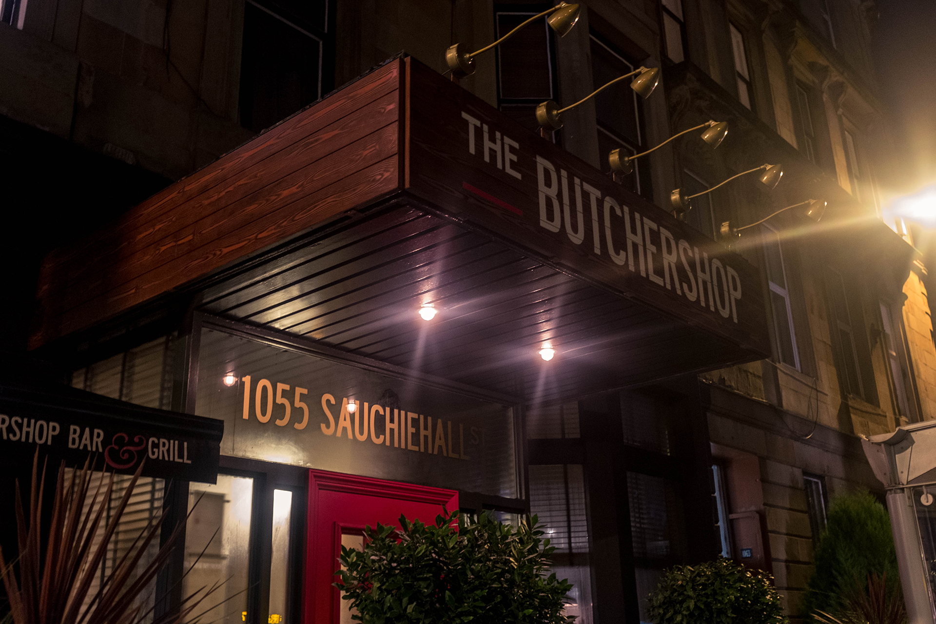 butchershop bar & grill entrance