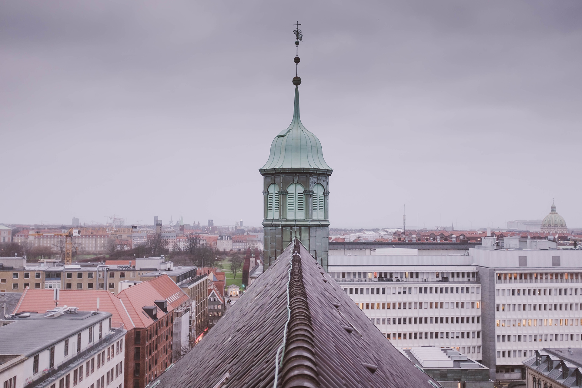 round tower roof