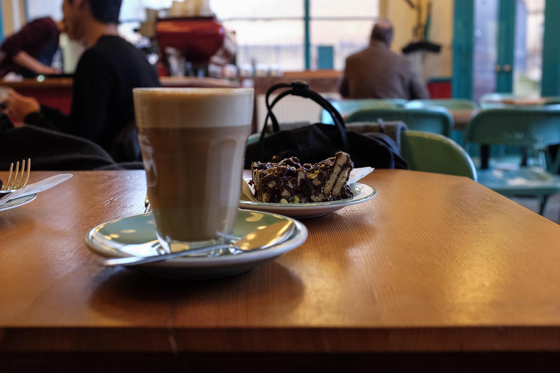 spitfire espresso coffee cake
