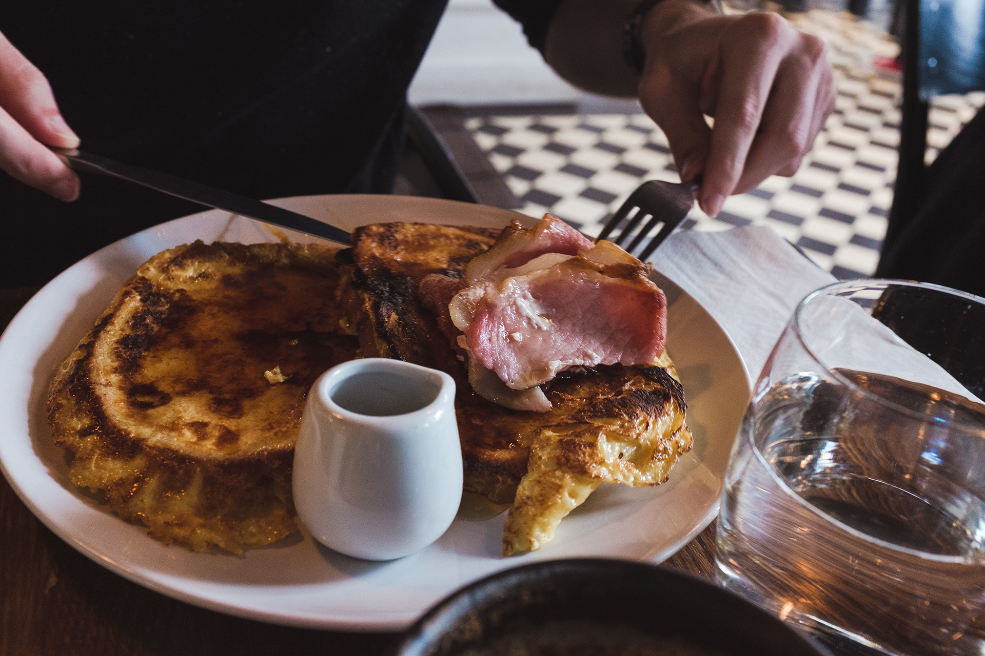 french toast maple bacon